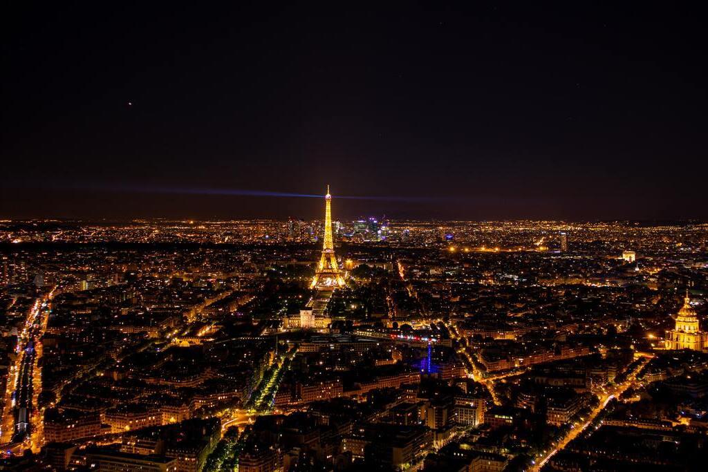 Vue panoramique depuis Montparnasse