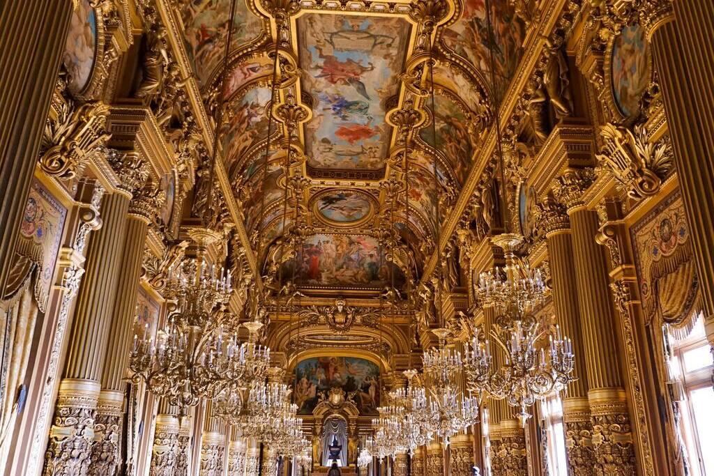 Dorure intérieure de l'Opéra