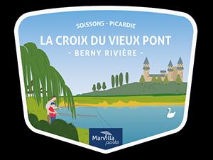 Camping La Croix du Vieux Pont à Berny-Rivière en Picardie
