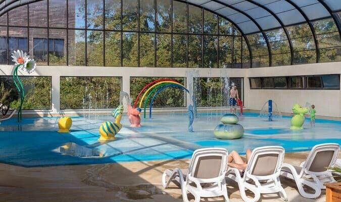 Espace aqualudique pour enfants