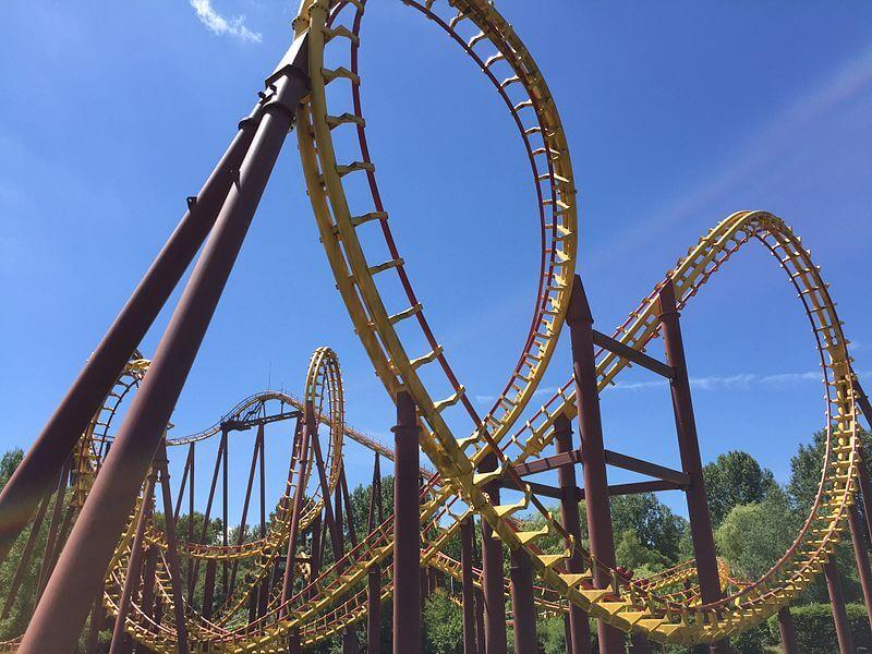 Loopings au Parc Astérix